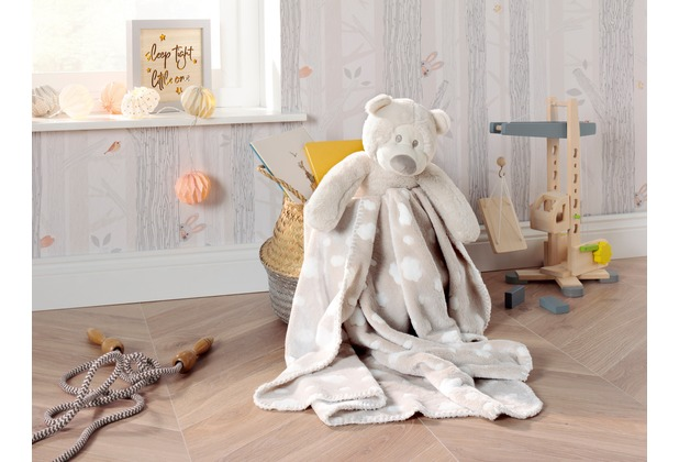 Biederlack Play & Dream Set Eisbär 75 x 100 cm