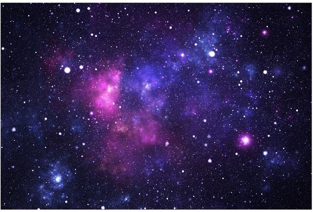 Bilderwelten Vliestapete - Galaxie - Fototapete Breit 190x288cm
