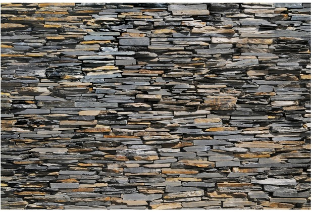 Bilderwelten Vliestapete Premium - Graphite Stones - Fototapete Breit 190x288cm