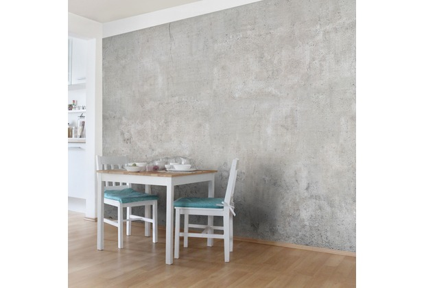 Bilderwelten Vliestapete Premium - Shabby Betonoptik - Fototapete Breit 190x288cm