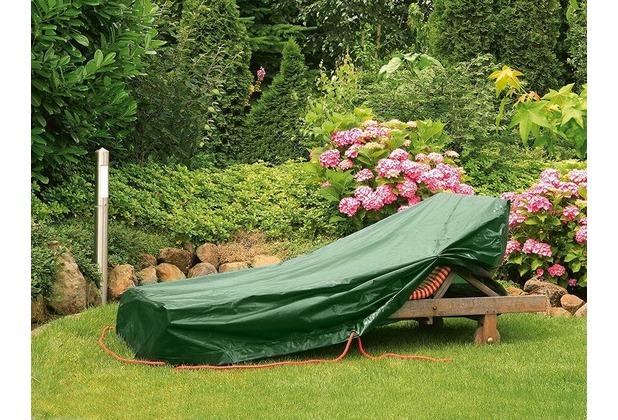 Bio Green Schutzhülle silber/grau hochreißfest für Roll-Liege 185 x 115 x 68 cm