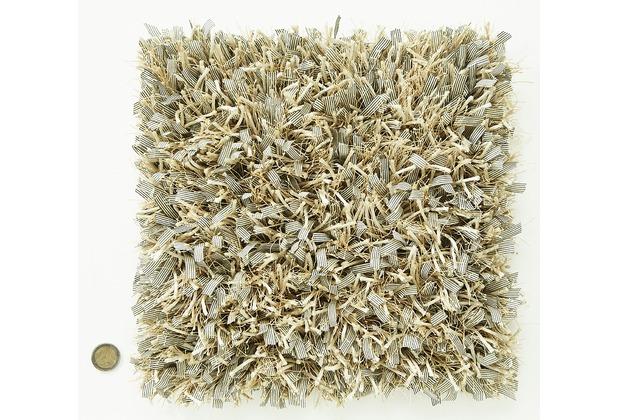 Kaiya Hochflor-Teppich Blanche 13 Beige Wunschmaß