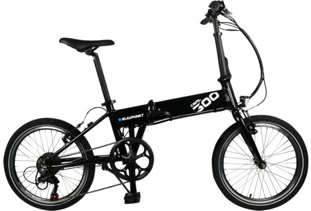 Blaupunkt Falt-E-Bike Carl 300 Schwarz