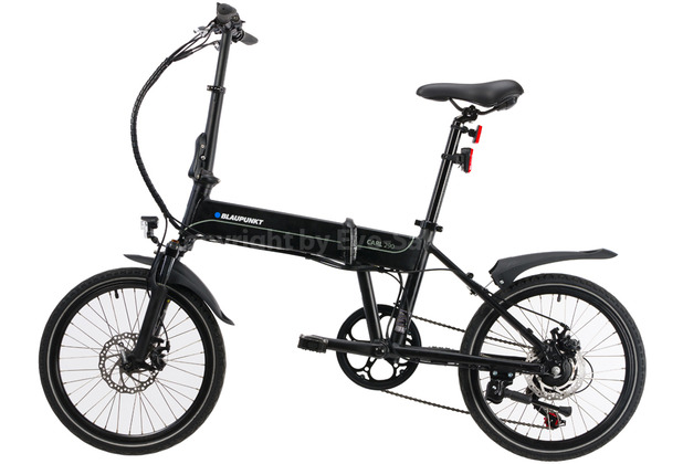 Blaupunkt Falt-E-Bike Carl 290 Matt schwarz