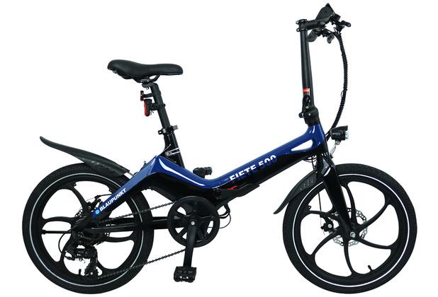 Blaupunkt Falt-E-Bike Fiete 500 Cosmos-Blau/Schwarz
