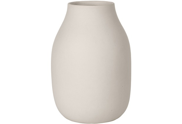 blomus Colora Vase, beige/moonbeam
