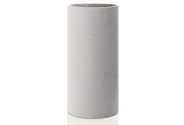 blomus Coluna Vase, hellgrau , L