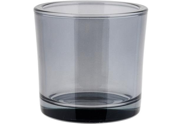 blomus Nero Glas Windlicht - Smoke Ø 12,5 cm