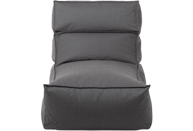 blomus Stay Lounger In- und Outdoor L, dunkelgrau/coal
