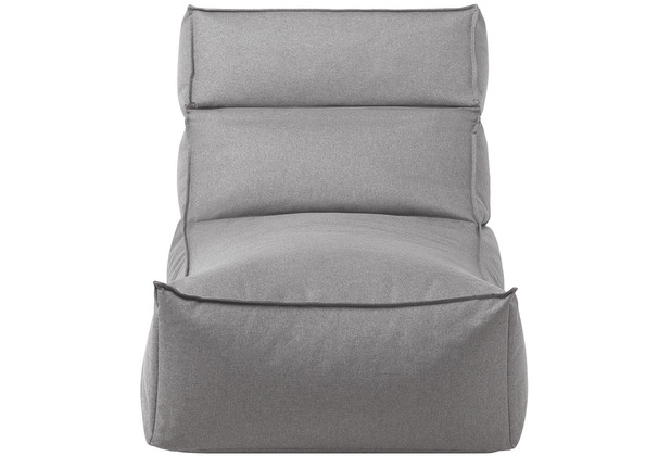 blomus Stay Lounger In- und Outdoor L, grau/stone