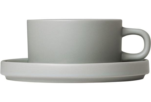 blomus MIO Set 2 Teetassen Mirage Grey