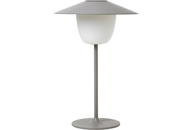 blomus Mobile LED-Lampe, grau/satellite