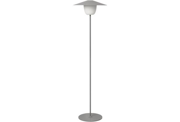 blomus Ani Lamp Mobile LED-Leuchte H 121 cm, grau/satellite