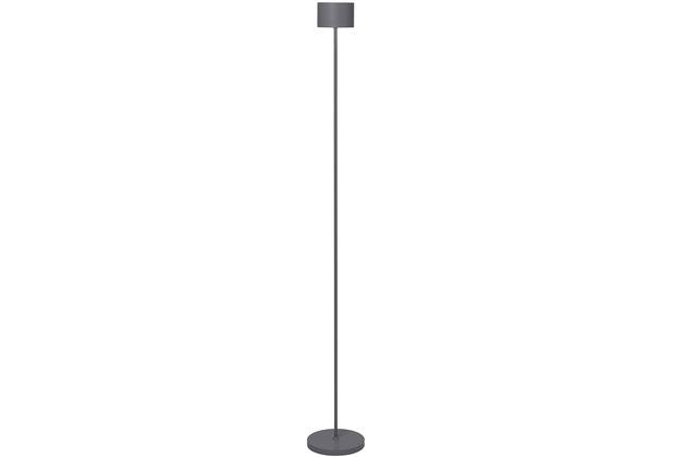 blomus Farol Floor Mobile LED-Leuchte Warm Gray