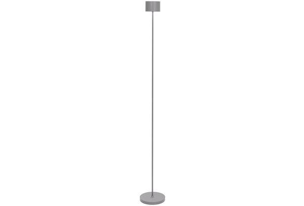blomus Farol Floor Mobile LED-Leuchte, grau/satellite