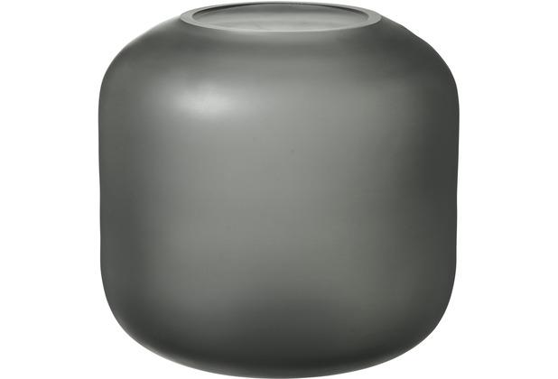 blomus Ovalo Vase, grau/grey ø 17 cm