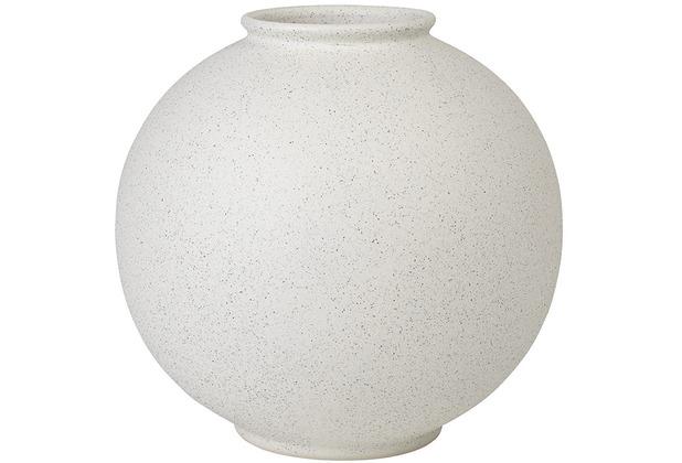 blomus RUDEA Vase, Lily white, 23 cm, rund