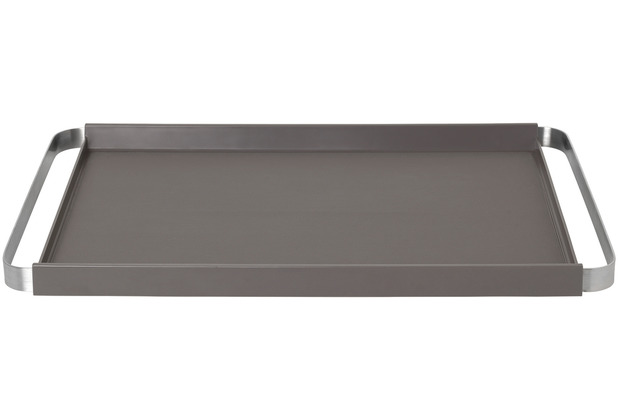 blomus Pegos Tablett, grau/warm gray