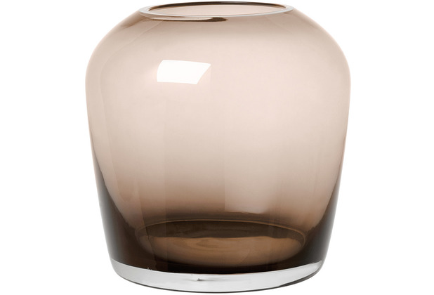 blomus Leta Vase Coffee small Ø 11 cm