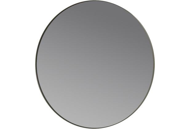 blomus Rim Wandspiegel, grau/steel grey Ø 50 cm