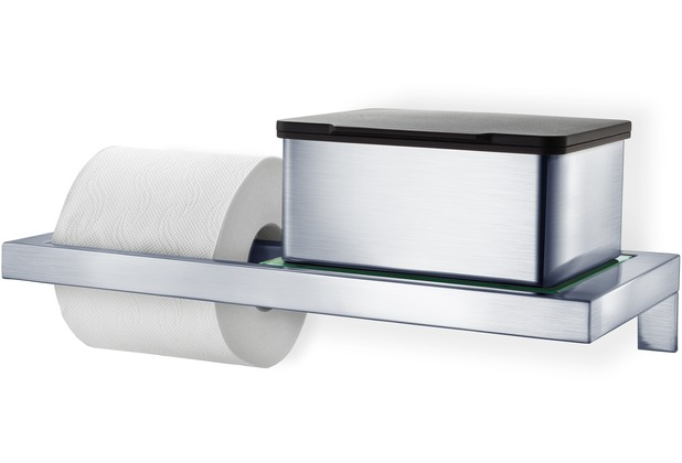 blomus MENOTO WC-Rollenhalter mit Ablage