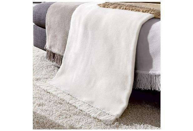 Biederlack Sofaläufer Cotton Cover natur 100x200 cm