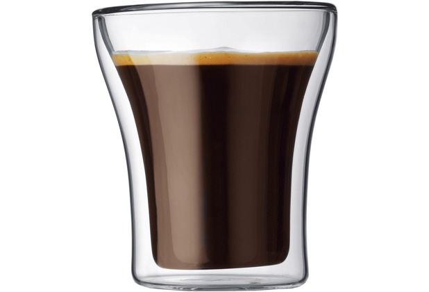 Bodum ASSAM 2 Stück Glas 0,2 l transparent