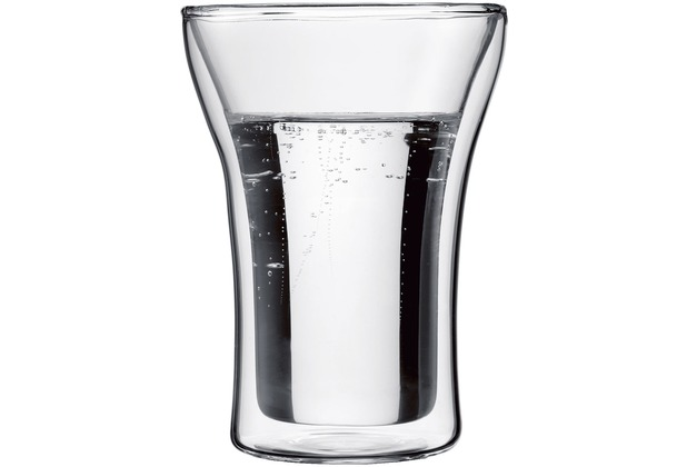 Bodum ASSAM 2 Stück Glas 0,25 l transparent