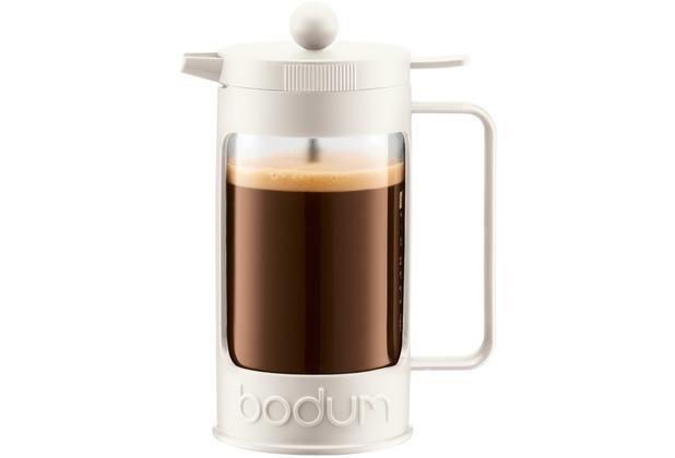 Bodum BEAN Kaffeebereiter 0,35 l 3 Tassen cremefarben