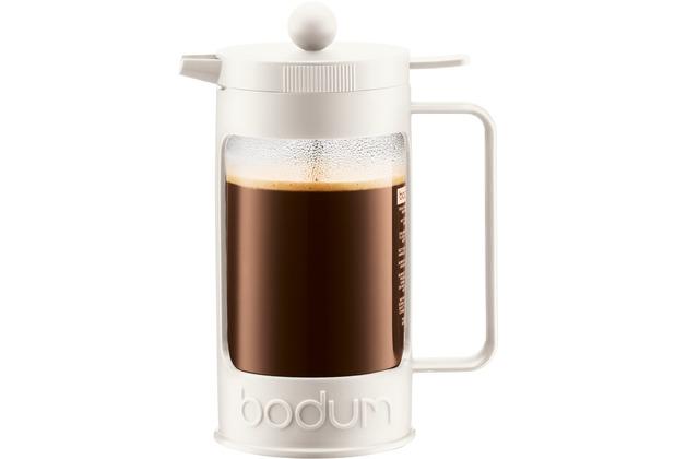 Bodum BEAN Kaffeebereiter 1,0 l cremefarben
