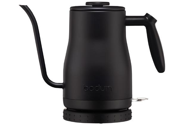 Bodum BISTRO Gooseneck Wasserkocher, 1.0L, 1200 W schwarz
