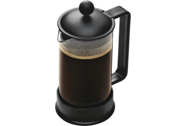 Bodum BRAZIL Kaffeebereiter 0,35 l 3 Tassen schwarz
