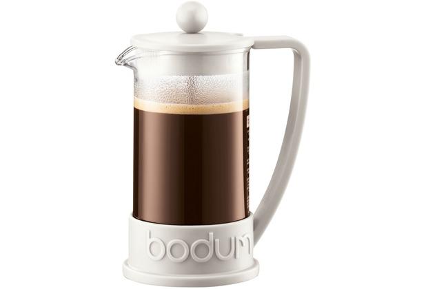 Bodum BRAZIL Kaffeebereiter 0,35 l 3 Tassen cremefarben