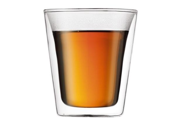 Bodum CANTEEN Glas doppelwandig 0.2L - 2er Set