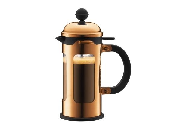 Bodum CHAMBORD Kaffeebereiter 0,35 l 3 Tassen, kupfer