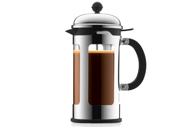 Bodum CHAMBORD Kaffeebereiter 1,0 l 8 Tassen glänzend