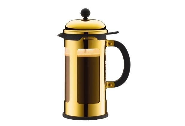 Bodum CHAMBORD Kaffeebereiter 1,0 l 8 Tassen, gold