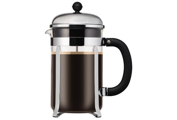 Bodum CHAMBORD Kaffeebereiter, 12 Tassen, 1.5 l schwarz