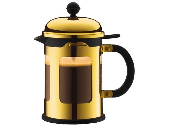 Bodum CHAMBORD Kaffeebereiter, 4 Tassen, 0.5 l gold