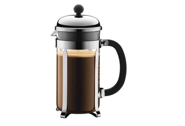 Bodum CHAMBORD Kaffeebereiter, 8 Tassen, 1.0 l schwarz