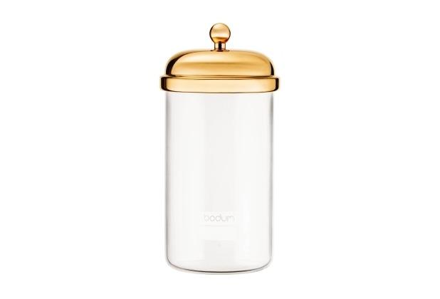 Bodum CLASSIC Vorratsglas, 1.0 l gold