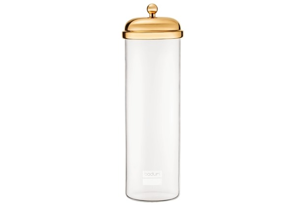 Bodum CLASSIC Vorratsglas, 1.8 l gold