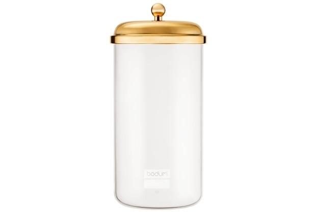 Bodum CLASSIC Vorratsglas, 2.0 l gold