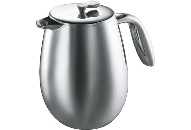 Bodum COLUMBIA Kaffeebereiter 1,5 l 12 Tassen glänzend