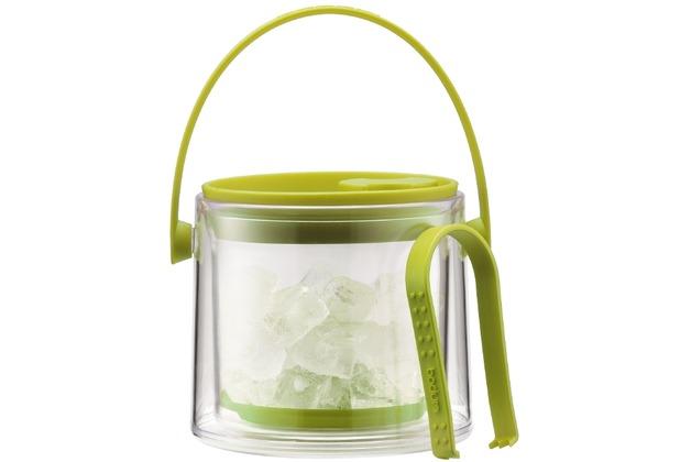 Bodum COOL Eiskübel mit Zange, 1.5 l limettengrün