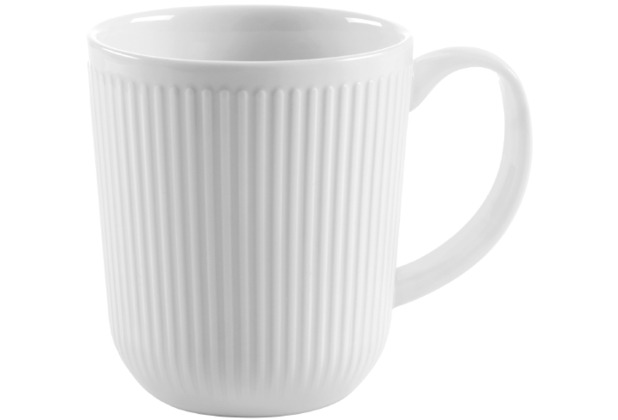 Bodum DOURO 2 Stk. Kaffeetasse 0.35 l, Porzellan weiß