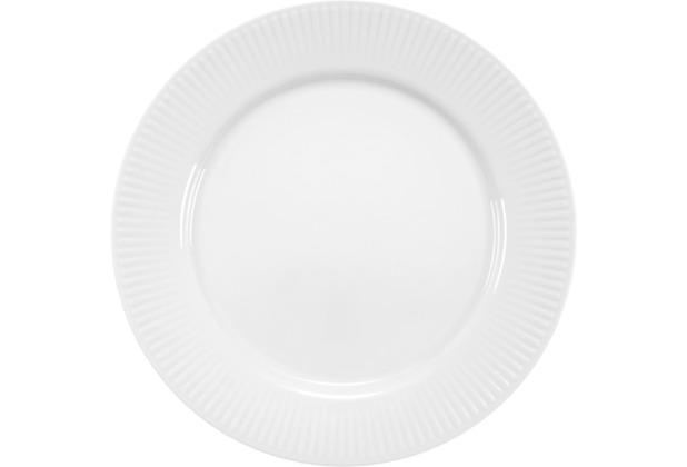 Bodum DOURO 4 Stk. Speiseteller, Durchm. 28 cm, Porzellan weiß
