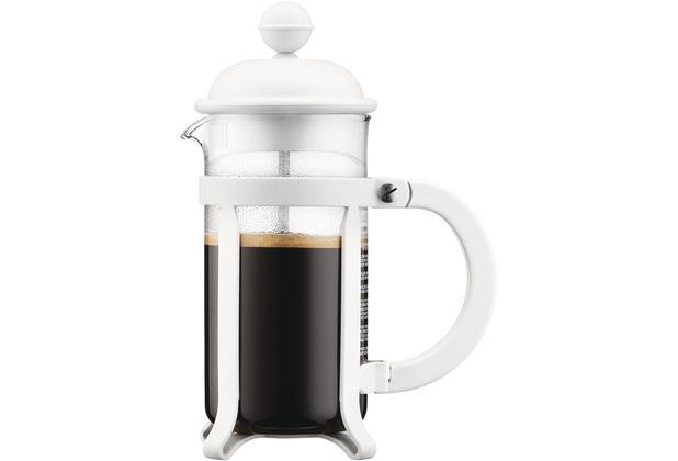 Bodum JAVA Kaffeebereiter, 3 Tassen, 0.35 l cremefarben