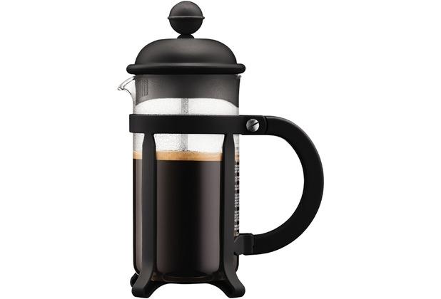 Bodum JAVA Kaffeebereiter, 3 Tassen, 0.35 l schwarz