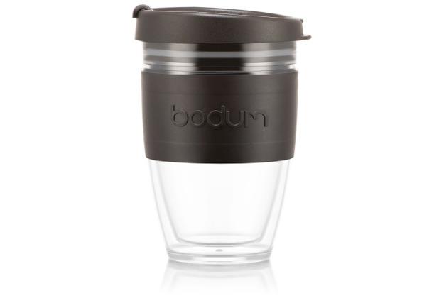 Bodum JOYCUP Reisebecher, 0,25l, Bodum-Band, schwarz
